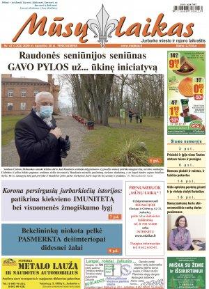 Mūsų Laikas - Jurbarko rajono laikraštis, Nr. 47 (1303)