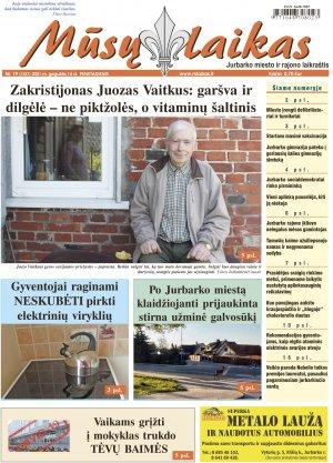 Mūsų Laikas - Jurbarko rajono laikraštis, Nr. 19 (1327)