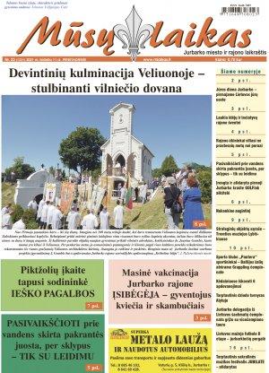 Mūsų Laikas - Jurbarko rajono laikraštis, Nr. 23 (1331)
