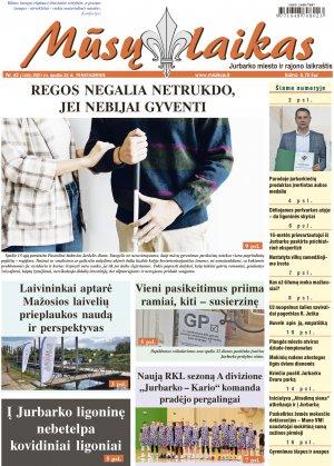 Mūsų Laikas - Jurbarko rajono laikraštis, Nr. 42 (1350)